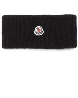 Knit Wool & Alpaca Blend Headband