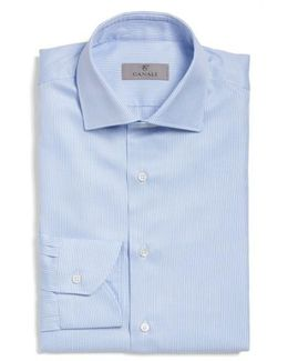 Regular Fit Stripe Dress Shirt