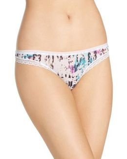 Next To Nothing Hip-g Mesh Thong