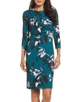 Jersey Sheath Dress