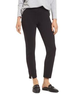 High Waist Skimmer Pants