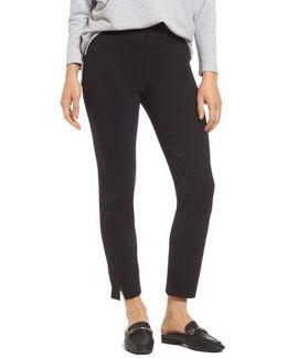 High Waist Skimmer Pants