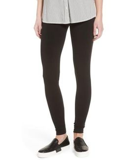 Pima Cotton Blend Leggings