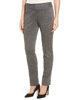 Herringbone Ankle Pants