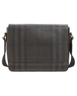Edgware Check Messenger Bag