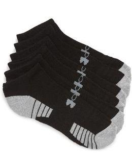 Heatgear 3-pack No-show Socks, Black