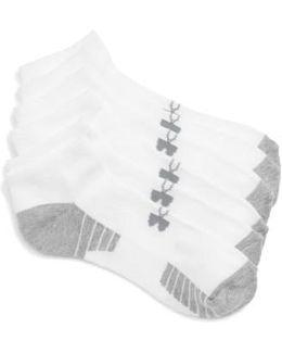 Heatgear 3-pack No-show Socks, White