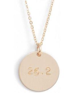 Marathon Pendant Necklace