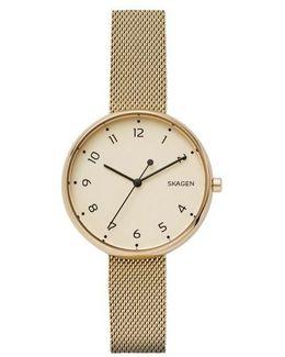 Signatur Mesh Strap Watch