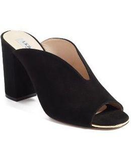 Carmela Open-toe Mule