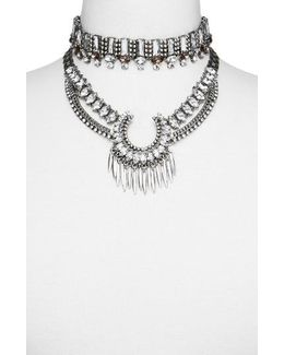 Pandora Choker Bib Necklace
