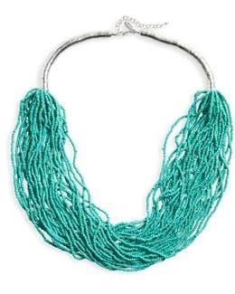 Natasha Beaded Multistrand Necklace
