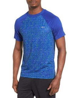 Sport Performance Print Jersey T-shirt