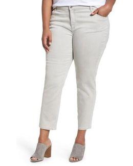 Organic Cotton Blend Skinny Jeans