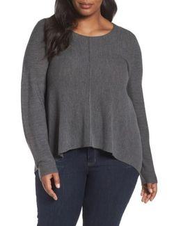 Seam Front Merino Sweater