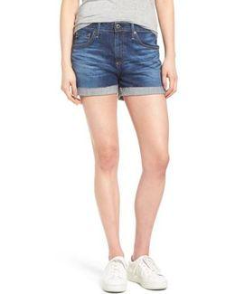 Hailey High Waist Denim Shorts