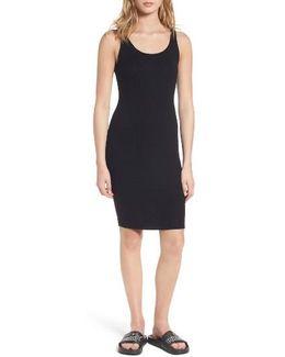 Rib Knit Body-con Dress