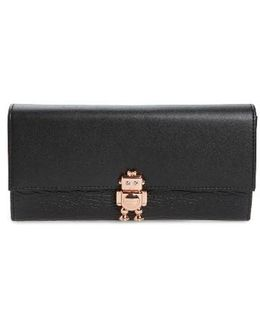 Robot Leather Matinee Wallet