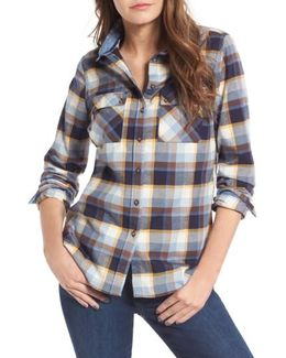 Darwin Plaid Cotton Shirt