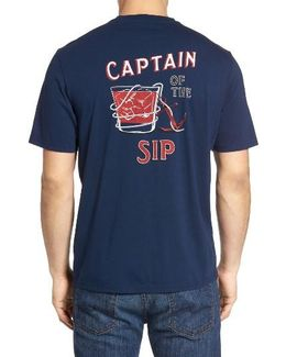 Captain Of The Sip T-shirt