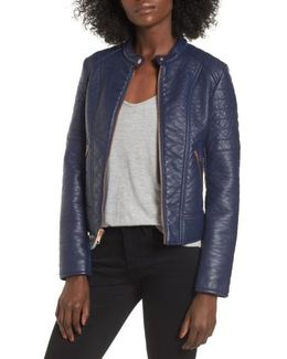 Blakely Faux Leather Jacket