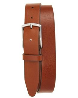 Bayview Ave. Leather Belt