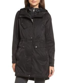 Parka With Detachable Bib Insert