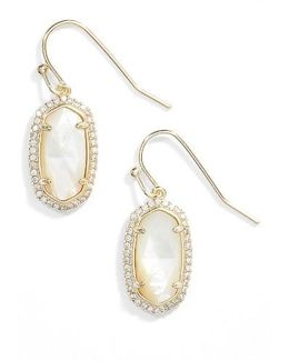 Lee Pave Drop Earrings