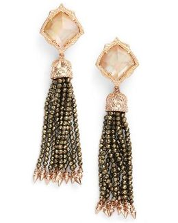 Misha Tassel Earrings