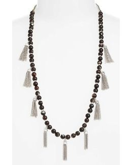Vanina Tassel Necklace