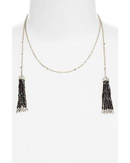 Monique Tassel Necklace