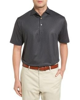 Staffordshire Print Jersey Polo