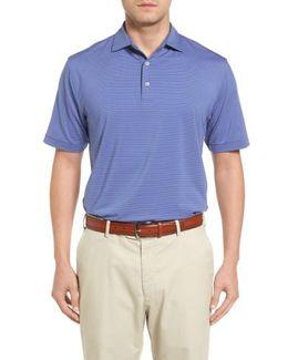 Basset Stripe Jersey Polo