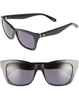 Jenae 53mm Polarized Sunglasses
