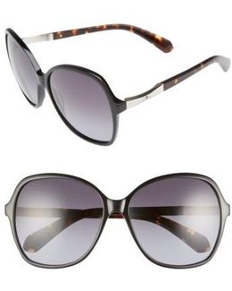 Jolyn 58mm Gradient-lens Sunglasses