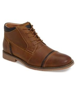 Leeman Cap Toe Boot