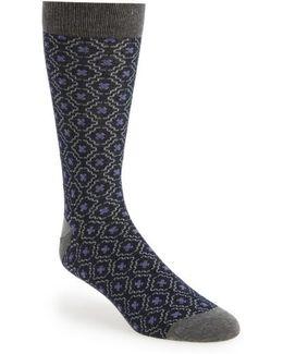 Norzec Geometric Sock