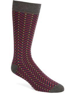 Chevron Stripe Socks