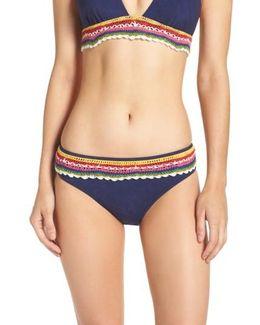 Peace Love Charmer Bikini Bottoms