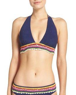 Peace Love Bikini Top