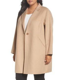 Double Face Wool Blend Coat
