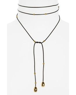 Rosa Dottie Convertible Wrap Necklace