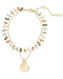 Rosa Marie Multistrand Bracelet