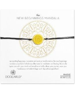 The New Beginnings Mandala Bracelet