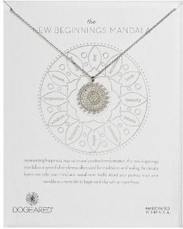 The New Beginnings Mandala Pendant Necklace