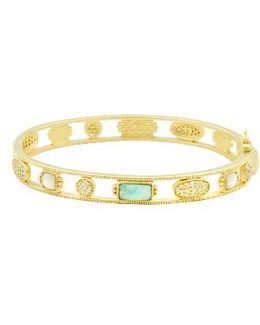 Amazonian Allure Hinge Bangle
