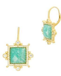 Amazonian Allure Drop Earrings