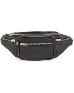 Washed Leather Fanny Pack