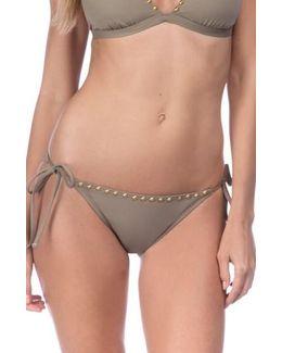 Deco Side Tie Bikini Bottoms
