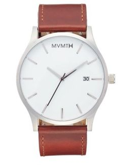 The Classic Leather Strap Watch
